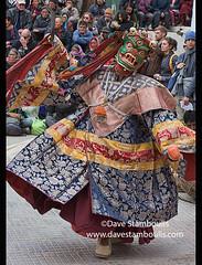 Masked monk performing at a traditional cham dance, Leh, Ladakh, India (jitenshaman) Tags: travel worldtravel destination destinations asia asian india indian ladakh ladakhi buddhist tibetanbuddhist tibetanbuddhism cham chamm chaam dance dances monk monks culture cultural tradition traditional festival ladakhfestival dancing trance mask costume perform performance colorful colourful costumed dress fashion kagyu robed chokhang chokhangvihara gompa monastery