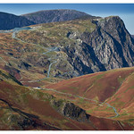 Honister Pass and Slate Mine in Autumn Light thumbnail