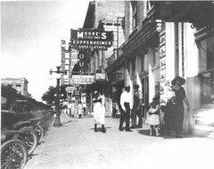 Main Street (lakelandlibrary) Tags: commercial district main street businesses streets automobiles