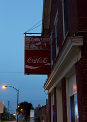 DMAFR Day 5 (11) (momentspause) Tags: sign vintagesign cokesign iowa roadtrip canon5dmkiii canonef50mmf18 bluehour