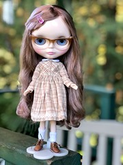 "Love my little Gerda💖 Off to school! Dress by Hilly rags. • <a style=""font-size:0.8em;"" href=""http://www.flickr.com/photos/87230391@N03/30514075757/"" target=""_blank"">View on Flickr</a>"