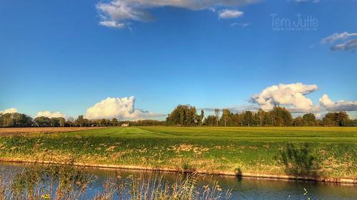 Herfst langs de Kromme Rijn, Odijk, Netherlands - 2006