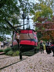 a beached pirate ship (SetsuntaMew) Tags: faire renfaire parenfaire fall autumn festival pennsylvania
