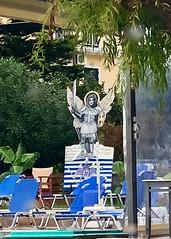 Dionysios Grill Angel (RobW_) Tags: angel dionysios grill tsilivi zakynthos greece monday 22oct2018 october 2018