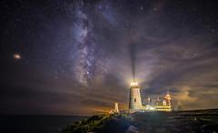 Pemaquid Point Lighthouse (Mark Papke) Tags: pemaquidpointlighthouse lighthouse milkyway maine landscape nikon night astrophotography nightscape stars nature astro lighthouses pemaquidlighthouse bristolmaine coastal coast