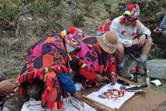 Offering To Pachamama (Ryan Hadley) Tags: santos lorezno joseph pachamama offering ceremony quechua inca hiking nature salkantaytrek salkantaytrail humantaylake soray peru andesmountains andes mountains southamerica mountainlodgesofperu