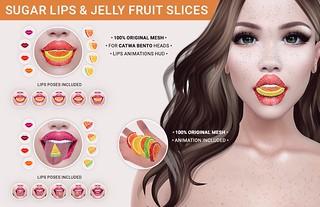 SEmotion Libellune Colorful Marmalade Candies with Sugar icing!