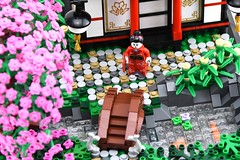 Lotii Residence, Port Raleigh (Ayrlego) Tags: lego cherryblossom brethrenofthebrickseas bobs