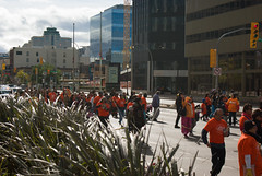 Portage & Main Round Dance 2018-09-30 — 2 (WPG Happening!) Tags: round dance rounddance portage main portageandmain portagemain pm 2018 residential school schools memorial ceremony residentialschools residentialschool canadianindianresidentialschools canadianindianresidentialschool indianresidentialschools indianresidentialschool indian indigenous native canadian nativecanadian american nativeamerican anishinaabe anicinabe people person group circle demonstration memorail commemoration protest winnipeg manitoba canada street road avenue st ave intersection traditional corner buildings building city exchange theexchange district exchangedistrict cityofwinnipeg orange shirt day shirts orangeshirtday