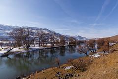 Kura river (gubanov77) Tags: georgia nature winter kurariver грузия travel tourism caucasus idumala samtskhejavakheti