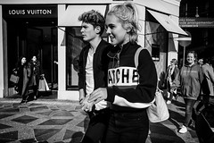 Images on the run... (Sean Bodin images) Tags: streetphotography streetlife seanbodin streetportrait subway copenhagen citylife candid city citypeople people photojournalism photography reportage fujifilm autumn