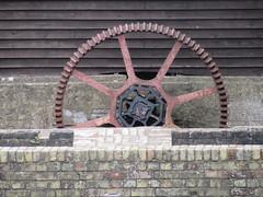 Chart Gunpowder Mills, Faversham, Kent (LookaroundAnne) Tags: gwuk mill wheel gunpowder chart faversham kent