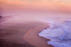 Atlantic coast (Jannis K) Tags: meer sea strand beach portugal wave welle sunset sonnenuntergang goldenestunde goldenhour ruhig calm sand wasser 5d canon 70200 ozean bucht ruhe entspannung landschaft travel reise