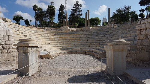 The Roman Amphitheater of Alexandria in the Kom al-Dikka Complex, Alexandria.