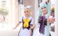 IMG_8158 (moshitea) Tags: 鏡音リン kagaminerin vocaloid hatsunemiku 初音ミク アニメ コスプレ コスプレイヤー girl fanime fanime2018 cosplay cosplayer