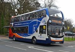Stagecoach South YX67 VCA (tubemad) Tags: stagecoach enviro400 e400 mmc yx67vca 10889 cobham spring rally