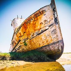 And What You Lost And What You Had And What You Lost (Thomas Hawk) Tags: america california marin pointreyes usa unitedstates unitedstatesofamerica westmarin westernmarin abandoned boat fav10 fav25