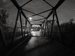 Night bridge (wojciechpolewski) Tags: bridge oldbridge roadbridge gliwickikanal blachownia kedzierzynkozle poland wpolewski night nightsky atnight nightlights nightlife nightphotography nightphoto fineart art blacknwhite blackandwhite bw bnw monotone monochromatic monochromatico monochrome streetphotographer streetphoto streetphotography explorestreets street