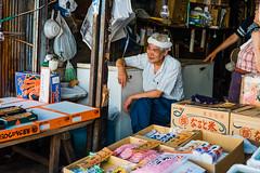 A days work (msova) Tags: xe2 selling japan market fujifilm fuji tokyo old man portrait