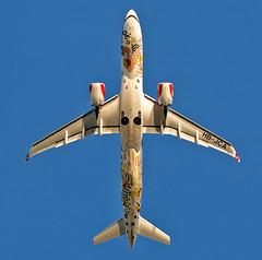 HB-JCA - Airbus A220-300 - LHR (Seán Noel O'Connell) Tags: swiss hbjca airbus a220300 a220 bcs3 swissromandy lhr egll 27l gva lsgg lx349 swr349 aviation avgeek aviationphotography planespotting