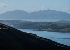 Across the Islands - Argyll Oct 2018 (GOR44Photographic@Gmail.com) Tags: arran bute cowal argyll clyde island scotland water coffintrail glenkin dunoon sandbank houses hills gor44 panasonic g9 45200mmf456 loch striven