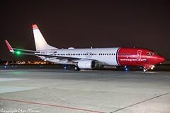 Norwegian Air International EI-FHJ HAJ at Night (U. Heinze) Tags: aircraft airlines airways airplane flugzeug planespotting plane nikon night nightshot haj hannoverlangenhagenairporthaj eddv
