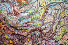 Roots (derekbruff) Tags: artprize grandrapids art painting roots