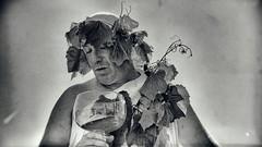 greek zombie (micagoto) Tags: weinfest meisen wein vine vino malen man glas greek saxony sachsen