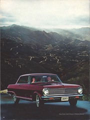 Pages from a 1965 Chevrolet full line brochure (Hugo-90) Tags: 1965 chevrolet car auto automobile ads advertising brochure nova supersport