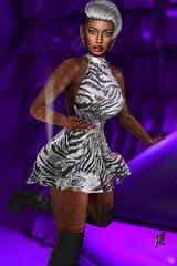 N°61 (Janay Karowe) Tags: ebony flesh catwa maitreya locktuft slackgirl deaddollz friday