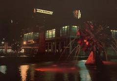 Leipzig Sachsenplatz 1970s (stilo95hp) Tags: leipzig sachsenplatz 1970s brunnen nacht gdr ddr