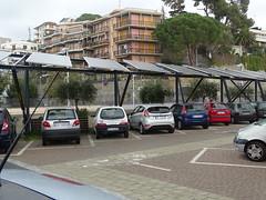 Pensilina parcheggio