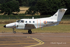 77 Embraer Xingu French Navy (Keith Wignall) Tags: ffd fairford riat embraer xingu frenchnavy