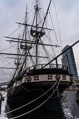 Constellation_121880 (gpferd) Tags: boat building construction harbor tallship ussconstellation vehicle water baltimore maryland unitedstates us