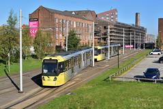 d35525 (15c.co.uk) Tags: manchester metrolink sheffieldstreet tram 3027 3014