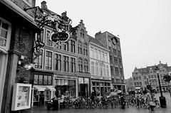 La belle vue (Valantis Antoniades) Tags: la belle vue brugge belgium bruges markt market square flemish architecture monochrome black white