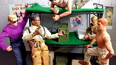 First Call - Life in the Barracks (MayorPaprika) Tags: lgv20 lgvs995 16 custom diorama toy story paprihaven action figure set doll gijoe classic collection