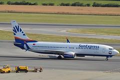 SunExpress TC-SOB Boeing 737-8HC Winglets cn/61175-5949 @ LOWW / VIE 20-06-2018 (Nabil Molinari Photography) Tags: sunexpress tcsob boeing 7378hc winglets cn611755949 loww vie 20062018