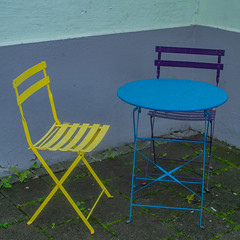 Table & Chairs In Rain (aha42 | tehaha) Tags: bergen noreg norge norway bord chair outside rain regn stol table ute hordaland no square