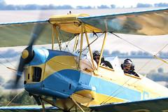 DH-82A TIGER MOTH - G-ANNG (mark_rutley) Tags: tigermoth dh82a vintageaircraft oldsarum raf airforce aviationphotography aviationphotographer biplane pilot flight flying aircraft aviation