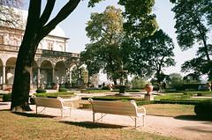 Park in Prague (zuziawie) Tags: minolta himatic g 35mm 35 prague praha europe analog analogue sunshine sun summer czech park trees tree