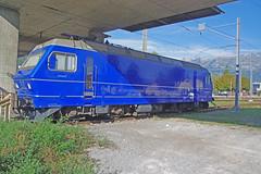 IMGP1789a (Alvier) Tags: schweiz rheintal werdenberg buchs bahnhof re456 lokomotive müllergleisbauag