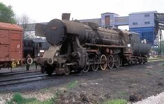 33 504  Dubrave  12.04.16 (w. + h. brutzer) Tags: dubrave 33 eisenbahn eisenbahnen train trains railway jugoslawien dampflok dampfloks steam lokomotive locomotive zug webru analog nikon