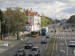 "Solaris Urbino 18 III, #A-725, ""Mobilis"" Mościska dept Warsaw (transport131) Tags: bus autobus ztm warszawa wtp solaris urbino mobilis group"