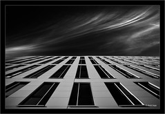 architecture with the Laowa 10-18mm prototype (Dierk Topp) Tags: a7rii a7rm2 bw himmel ilce7rii ilce7rm2 laowa1018 ostsee sonya7rii travemünde architecture clouds monochrom ocean sw sony superwide ultrawideangle wideangle wolken