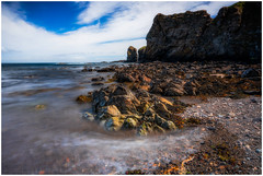 Forgotten Time (Augmented Reality Images (Getty Contributor)) Tags: nisifilters benro brough caithness canon cliffs clouds coastline landscape longexposure rocks scotland seascape seastack summer water waves