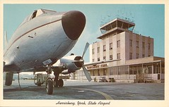 HAR02 (By Air, Land and Sea) Tags: airport postcard pennsylvania harrisburg york harrisburgyorkstateairport