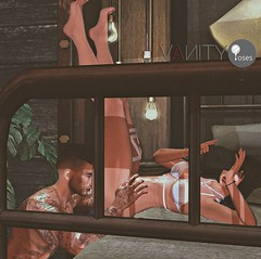 Vanity Poses - Captured Ad (V ♪) Tags: vanityposes vp bentoposes coupleposes smoothtransitionposes meshprop newrelease posefair2018 slevents secondlife virtualworld blender avastar 3d