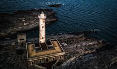 Lighthouse Fly By (mcalma68) Tags: sicilia faro santa croce lighthouse drone mavicpro dji aerial seascape augusta