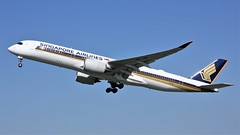 9V-SMP (AnDyMHoLdEn) Tags: singaporeairlines a350 staralliance egcc airport manchester manchesterairport 23l